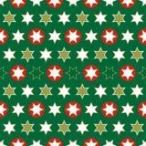 Weihnachtsnahtloses Verpackungspapier-c$wiederholen Stockbild
