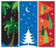 Weihnachtsnatur-Auslegungen Lizenzfreie Stockfotos