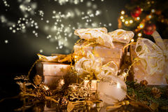 Weihnachtsnoch Leben Lizenzfreie Stockfotografie