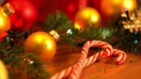 Weihnachtsnoch Leben stock footage