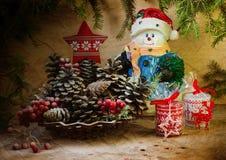 Weihnachtsnoch Leben Stockfoto
