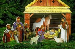 Weihnachtsnoch Leben Stockfotos