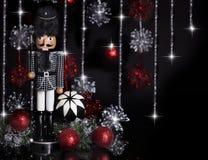 Weihnachtsnussknacker Houndstooth-Jacke 2 Stockbilder
