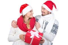 Weihnachtspaare Lizenzfreie Stockfotografie