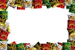 Weihnachtspaket-Feld lizenzfreies stockfoto
