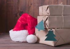 weihnachtspakete подарка на рождество Стоковое фото RF
