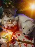 weihnachtspakete подарка на рождество Стоковые Изображения