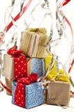 χριστουγεννιάτικο δώρο weihnachtspakete Στοκ φωτογραφία με δικαίωμα ελεύθερης χρήσης