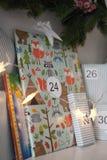 Weihnachtspakete - aanwezige Kerstmis stock foto's