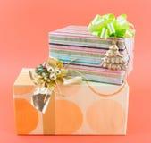 Weihnachtspakete - aanwezige Kerstmis Royalty-vrije Stock Foto