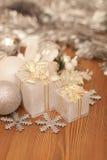 Weihnachtspakete - aanwezige Kerstmis Royalty-vrije Stock Afbeeldingen
