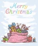 Weihnachtspakete - cadeau de Noël Images stock