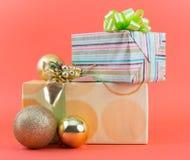 Weihnachtspakete - cadeau de Noël Image libre de droits