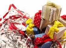 Weihnachtspakete - presente de Natal Imagens de Stock Royalty Free