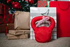 Weihnachtspakete - regalo de Navidad foto de archivo libre de regalías