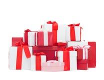 Weihnachtspakete - regalo di Natale Fotografie Stock