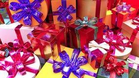 Weihnachtspakete - regalo di Natale Immagini Stock