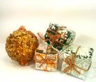 Weihnachtspakete - Weihnachtsgeschenk Lizenzfreies Stockbild