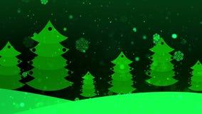 Weihnachtspapierbaum 5 stock footage
