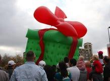 Weihnachtsparade Stockbild