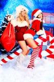 Weihnachtsparty stockbild