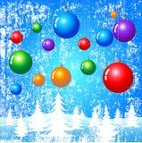 Weihnachtsphantasie stock abbildung