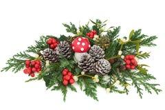 Weihnachtsphantasie-Dekoration stockbilder