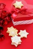 Weihnachtsplätzchen. Lizenzfreies Stockbild