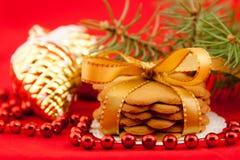 Weihnachtsplätzchen Lizenzfreies Stockbild