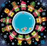 Weihnachtsplanet Stockbild