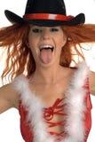 Weihnachtsportrait Lizenzfreie Stockbilder