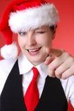 Weihnachtsportrait stockfoto