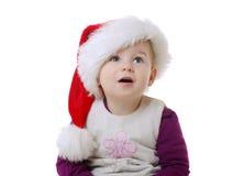 Weihnachtsportrait stockbild