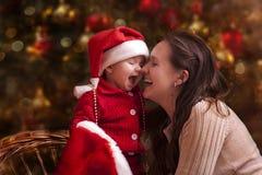 Weihnachtsporträt Lizenzfreie Stockbilder