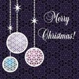 Weihnachtspostkarte Lizenzfreie Stockfotografie