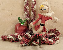 Weihnachtspostkarte 2012 Stockfotografie