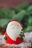 Weihnachtspostkarte mit Vater Frost Lizenzfreie Stockfotos