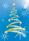 Weihnachtspostkarten Stockfotos