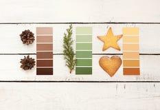 Weihnachtspostkarten- oder -plakatentwurf Stockbilder