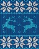 Weihnachtspullover-Musterdesign Stockbilder