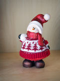Weihnachtspuppe des Steins Lizenzfreies Stockfoto