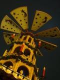 weihnachtspyramide Arkivbild