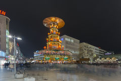 Weihnachtspyramide in Hannover Royalty Free Stock Images