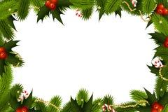 Weihnachtsrahmen Stockfotografie