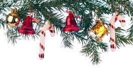 Weihnachtsrand Stockbilder