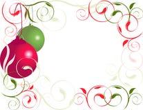 Weihnachtsrand 2 lizenzfreie stockfotos