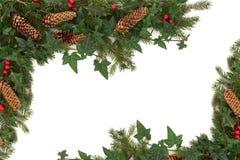 Weihnachtsrand Lizenzfreie Stockbilder