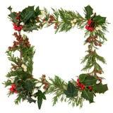 Weihnachtsrand Lizenzfreies Stockfoto
