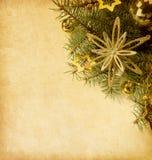 Weihnachtsrand. Lizenzfreies Stockbild