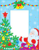 Weihnachtsrand lizenzfreie abbildung